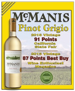 Pinot Grigio Shelf Talker Image