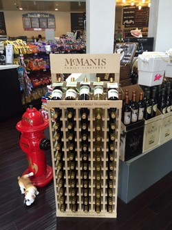 5 Bottle / 5 Case Wooden Wine Rack Image